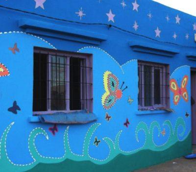 Rénovation d'une école à Tafraoute N'Gaboun