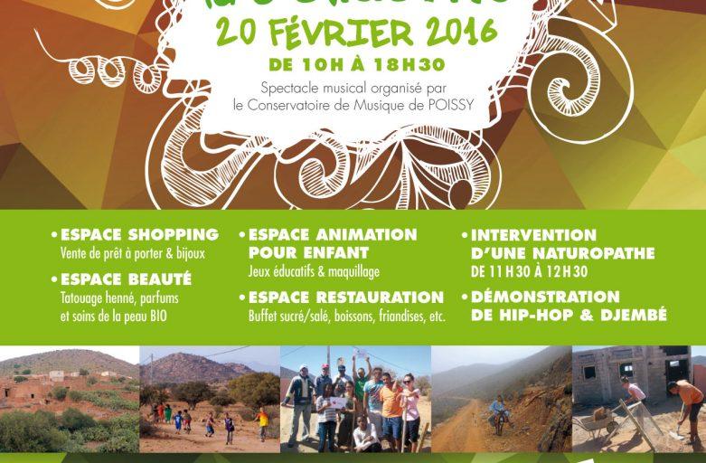 Fête pour la solidarité Poissy 2016