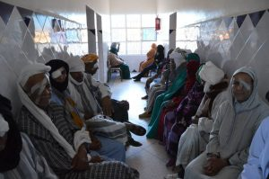 des centaines de personnes on pu être soigner par des medecins francais bénévoles au sud du Maroc (1)