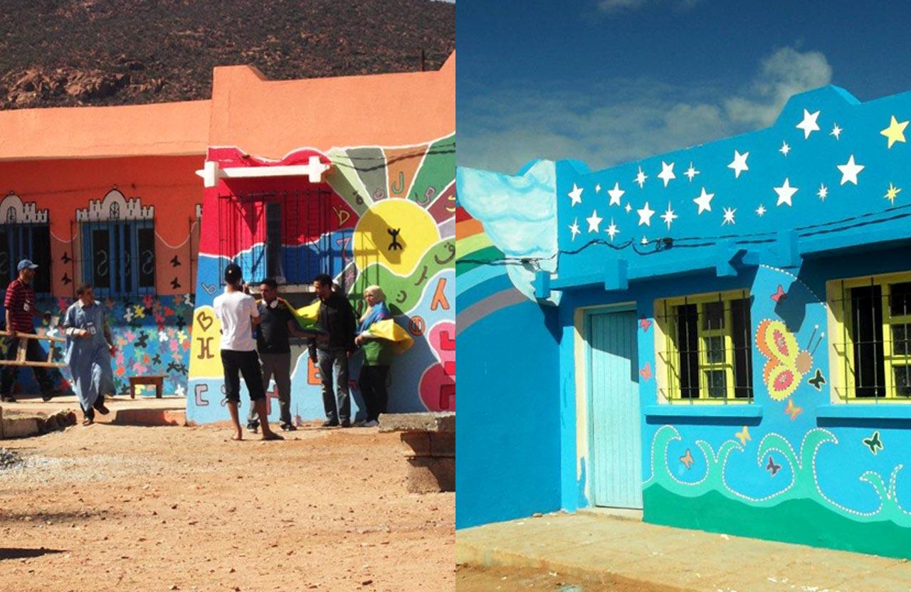 Rénovation école