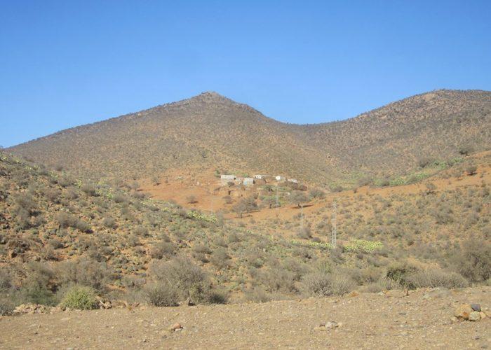 Alentours du village de Tafraout Ben Aïch
