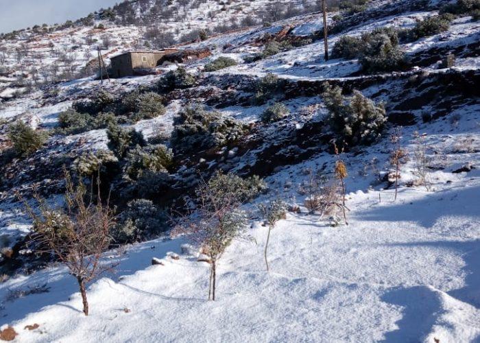 Le village de Tagoulemt en hiver