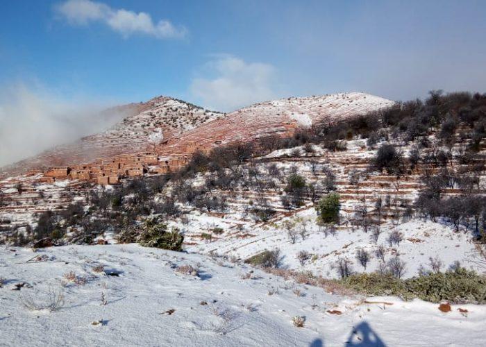 Les conditions climatiques hivernales de Tagoulemt peuvent réduire son accessibilité