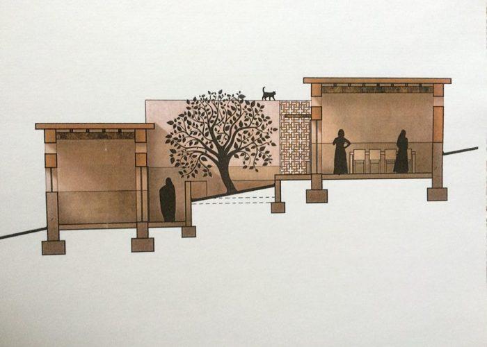 L'architecte a réalisé le profil de la coopérative dans le respect des normes architecturales et sécuritaires des bâtiments